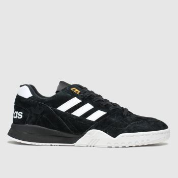 Adidas Black & White A.r. Mens Trainers