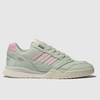 Adidas Light Green A.R. Trainers Mens Trainers