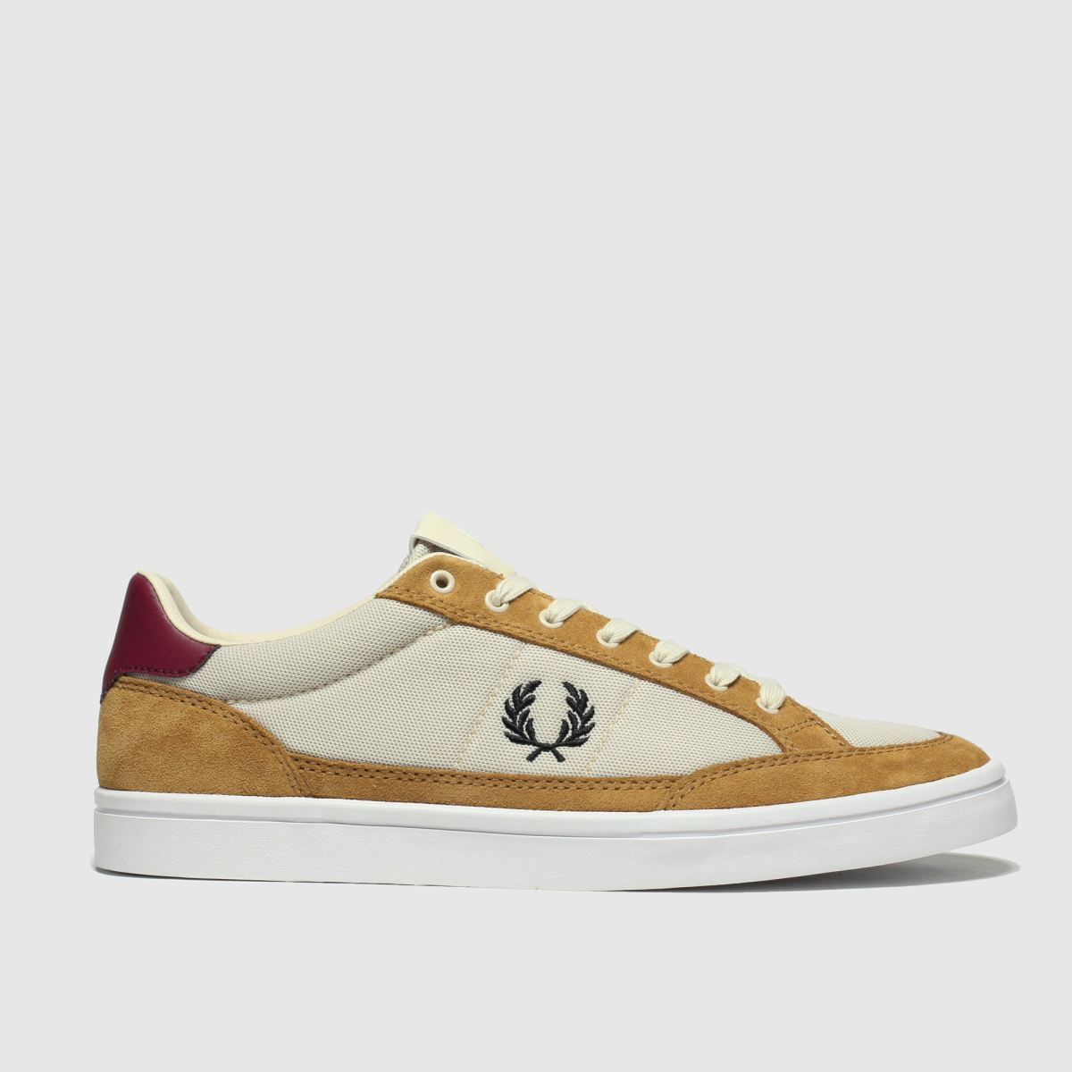 Fred Perry Tan Deuce Trainers
