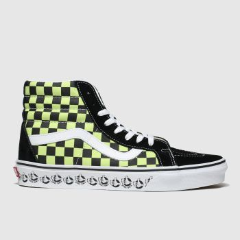 Vans Black & Green Sk8-hi Reissue X Bmx Mens Trainers