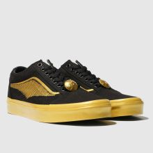 Vans hp golden snitch skool 1