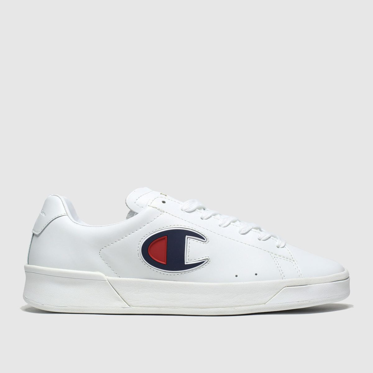 Champion White & Navy M979 Low Trainers