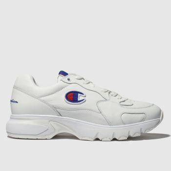 Champion White Cwa-1 Mens Trainers
