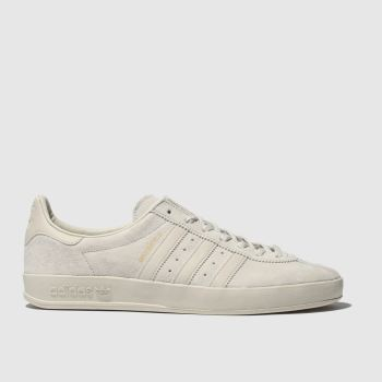Adidas White Broomfield Mens Trainers