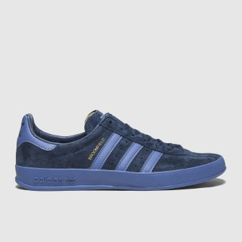 adidas Blue Broomfield Mens Trainers