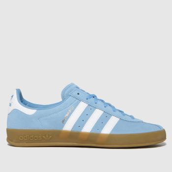 adidas Pale Blue Broomfield Mens Trainers
