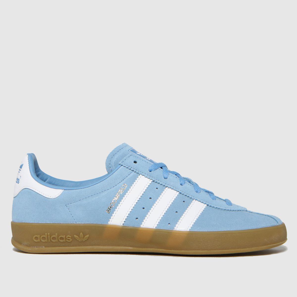 Adidas Pale Blue Broomfield Trainers