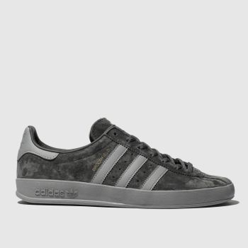 adidas Dark Grey Broomfield Mens Trainers#