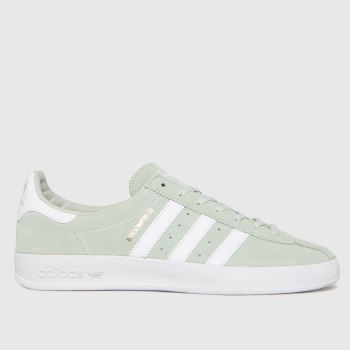 adidas Light Green Broomfield Mens Trainers