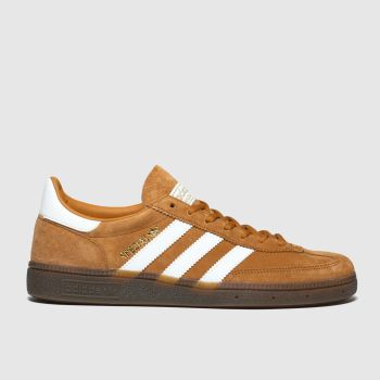 Adidas Orange Handball Spezial Mens Trainers#