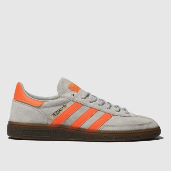 Adidas Grey Handball Spezial Mens Trainers