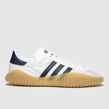 Adidas White & Navy Countryxkamanda Mens Trainers