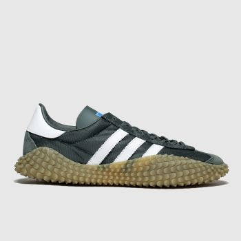 Adidas Dark Green Countryxkamanda Mens Trainers