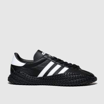 Adidas Black & White Countryxkamanda Mens Trainers