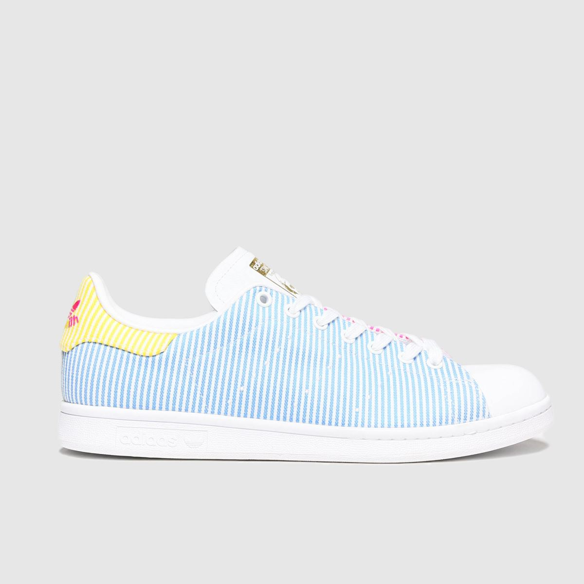 Adidas Pale Blue Stan Smith Pride Trainers