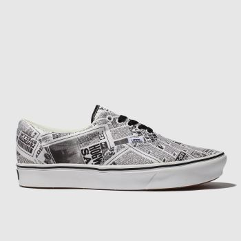Vans White & Black Hp Daily Prophet Era Mens Trainers