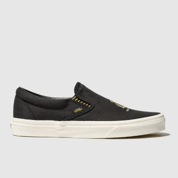 Vans Black Hp Hufflepuff Slip-On Mens Trainers