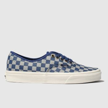 vans grey & navy hp ravenclaw authentic trainers