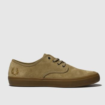Fred Perry Tan Merton Mens Trainers