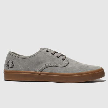 Fred Perry Grey Merton Mens Trainers