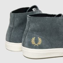Fred Perry portwood suede 1