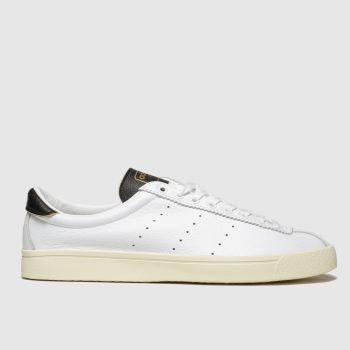 Adidas White & Black Lacombe Mens Trainers