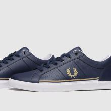 Fred Perry Baseline Perf Lthr 1