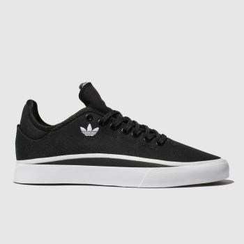 Adidas Skateboarding Black & White Sabalo Mens Trainers