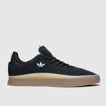 Adidas Skateboarding Black & Brown Sabalo Mens Trainers