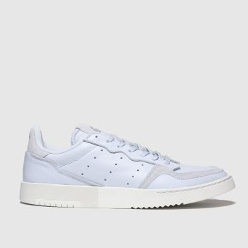 Adidas Pale Blue Supercourt Mens Trainers