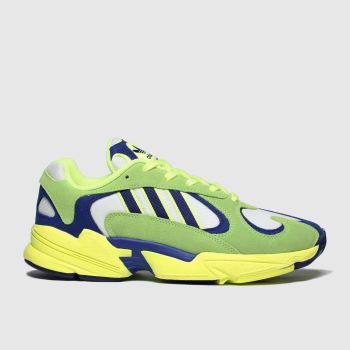 Adidas Lime Yung-1 Mens Trainers