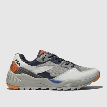 Fila Grey Vault Jogger Mens Trainers