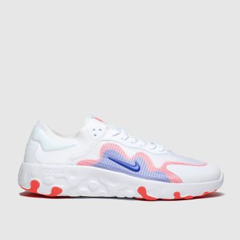 Nike White & Red Renew Lucent Mens Trainers