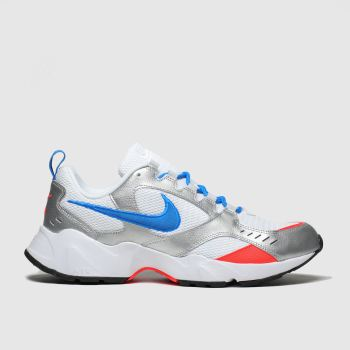 Nike White & Blue Air Heights Mens Trainers