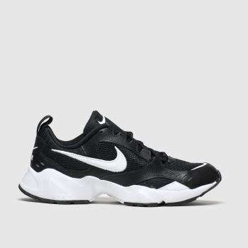 Nike Black & White Air Heights Mens Trainers