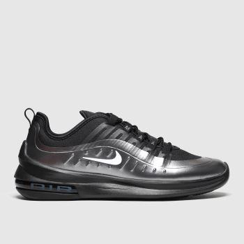 Nike Black & Silver Air Max Axis Premium Mens Trainers
