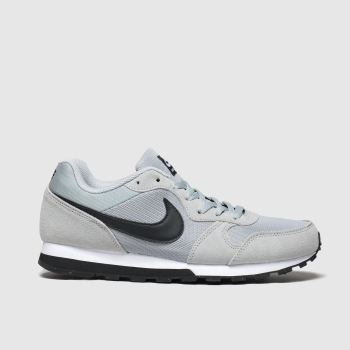 Nike Grey & Black Md Runner 2 Mens Trainers