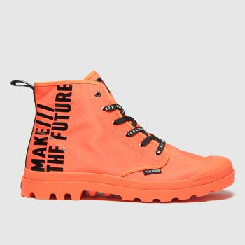 Palladium Orange Pampa Hi Future Mens Trainers