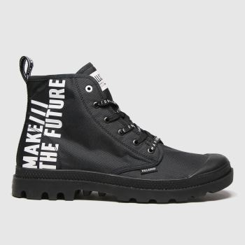 Palladium Black Pampa Hi Future Mens Trainers