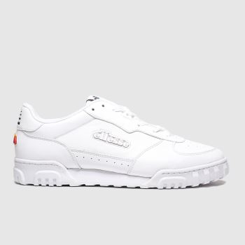 Ellesse White Tanker Lo c2namevalue::Mens Trainers