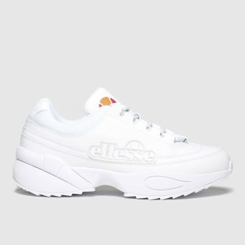 Ellesse White Sparta Mens Trainers