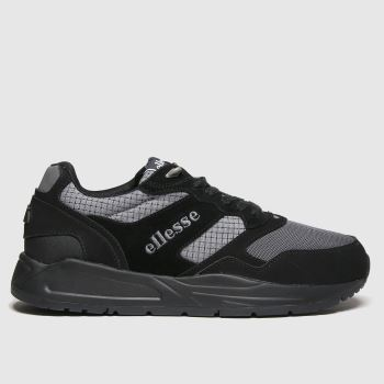 ellesse Black Nyc84 Tech Mens Trainers