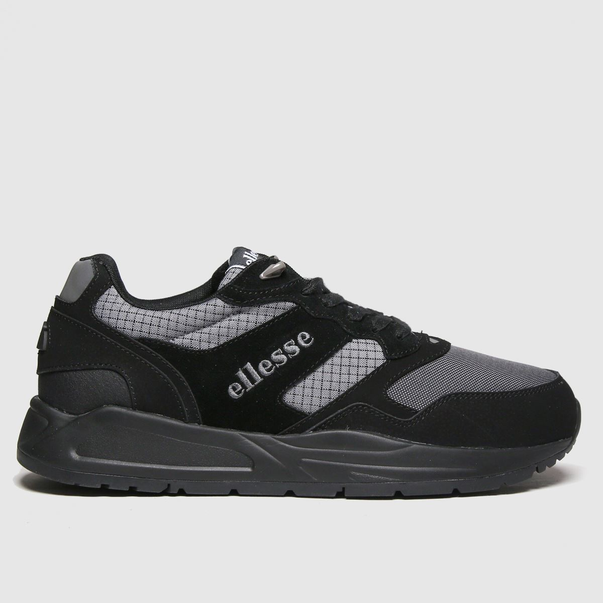 Ellesse Black Nyc84 Tech Trainers