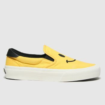 STRAYE Yellow Ventura Mens Trainers