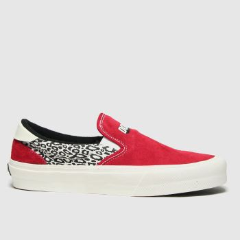 STRAYE Red Ventura Mens Trainers