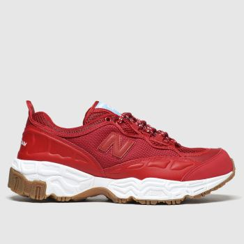 New Balance Red 801 Mens Trainers