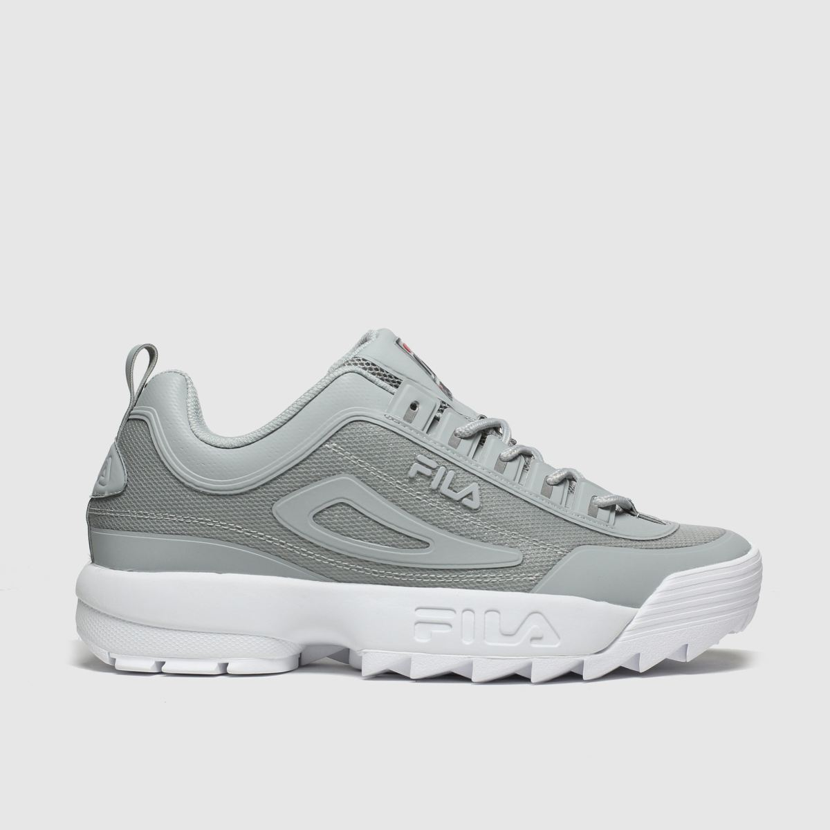 Fila Grey Disruptor Ii No Sew Trainers