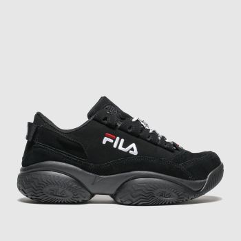 Fila Black Provenance Mens Trainers