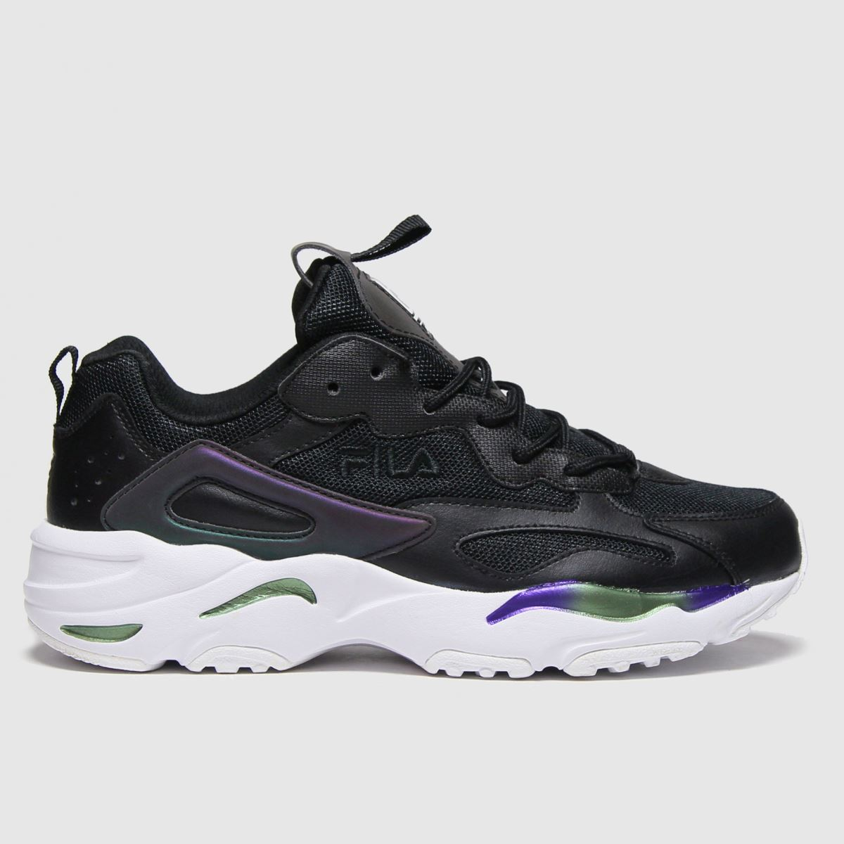 Fila Black & White Ray Tracer Trainers