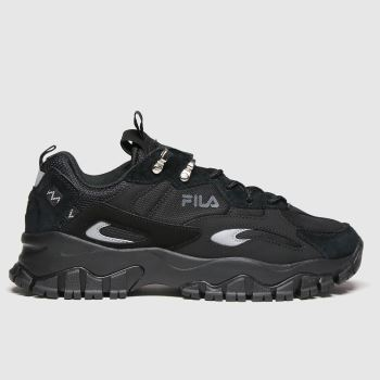 Fila Black Ray Tracer Tr 2 Mens Trainers
